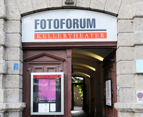 Eingang des Innsbrucker Kellertheaters